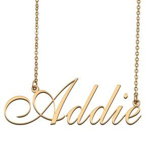 Custom Personalized Addie Name Necklace